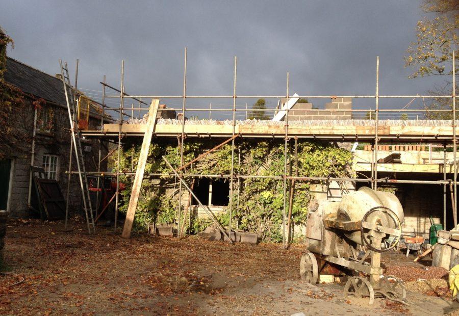 Stone barn conversion