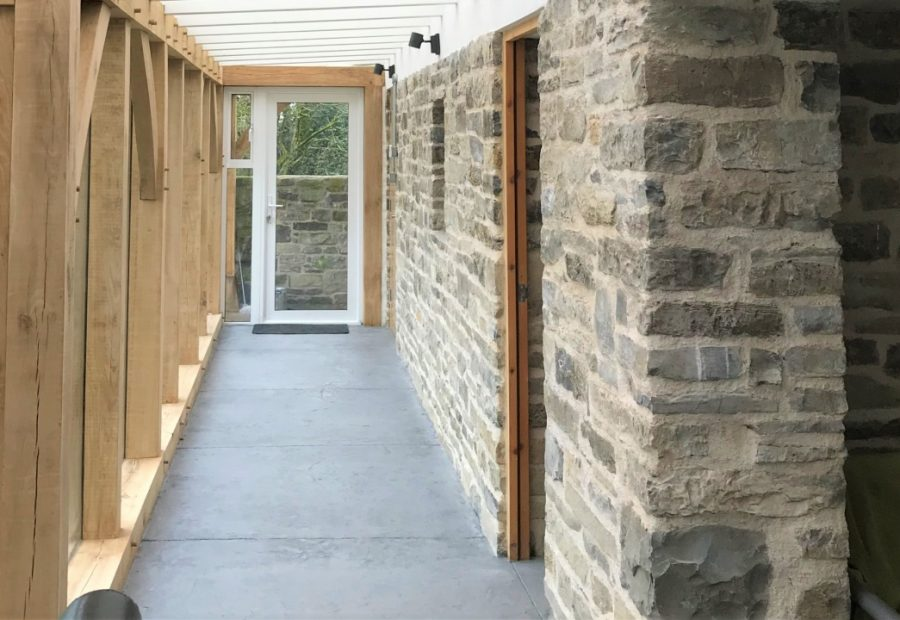 new single-storey extension